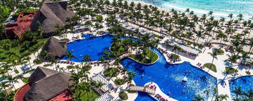 Barcelo Maya: The Host Resort bird's eye view of pool