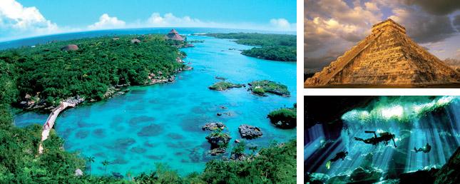 Cenote Lagoon, Chichen Itza & mayan ruin Tour adventure