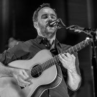 Dave Matthews singing & playing the guitar